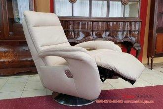 Кожаное  кресло-реклайнер