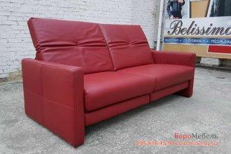 Кожаный диван электро-реклайнер
