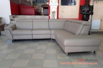 Угловой диван с реклайнером