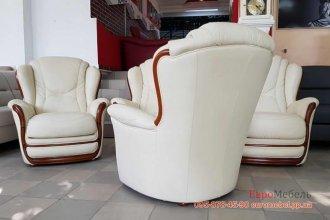 kКожаная мягкая мебель 1+1
