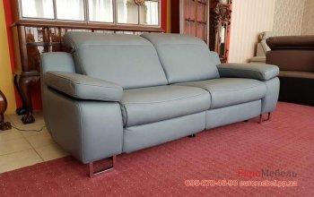Кожаный диван релакс Hukla