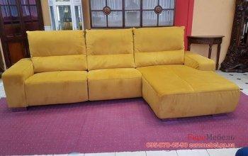 Угловой диван электрореклайнер
