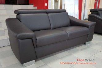 Кожаный диван релакс