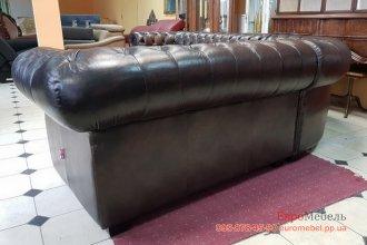 Кожаный угловой диван CHESTERFIELD