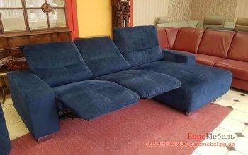 Новый угловой диван реклайнер