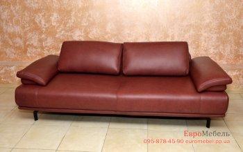 Шкiряний фiрмовий диван Hukla