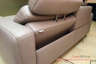 Шкiряний диван электро реклайнер Mondo